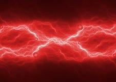 Roodgloeiende bliksem, stock foto's