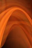 Roodgloeiende krommen Stock Foto's