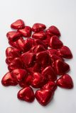 Roodgloeiende Liefde Stock Afbeelding