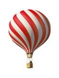 Roodgloeiende luchtballon Stock Fotografie