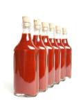 Roodgloeiende saus Stock Afbeelding
