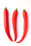 Roodgloeiende Spaanse peperpeper royalty-vrije stock foto