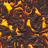 Roodgloeiende vloeibare textuur Royalty-vrije Stock Fotografie