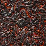 Roodgloeiende vloeibare textuur Stock Afbeeldingen