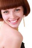 Roodharig meisje Royalty-vrije Stock Foto's