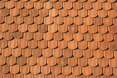 Roof. Tiles on the roof royalty free stock image