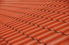 Roof. Tiles on the roof royalty free stock images
