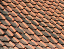 Roof. A red roof royalty free stock photography