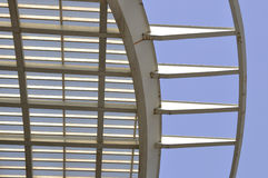 Roof. A high-speed railway station roof Stock Photography