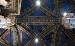 Roof. In the Duomo de Sienna Royalty Free Stock Photos