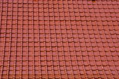 Roof. Covered with ceramic tiles Royalty Free Stock Photo