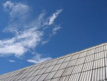 Roof. In the countryside Stock Images