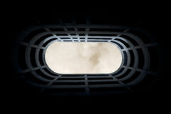 Through the roof Royalty Free Stock Images