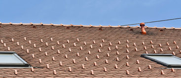 The roof Stock Image