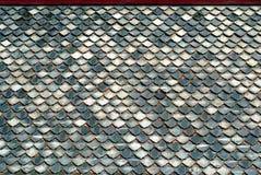 Roof#3 di ceramica tailandese Fotografie Stock Libere da Diritti