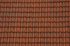Roof. Red modern roof royalty free stock photography