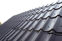 Roof. On a background of the sky Royalty Free Stock Photos