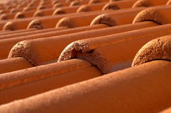 Roof. Orange Roof Royalty Free Stock Photos