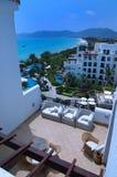 Roof of Aegean Conifer Resort Stock Image