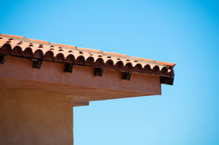 Roof  against  blue sky Stock Images