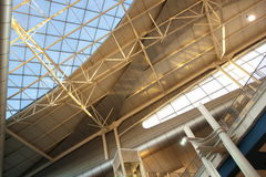 Roof of the Airport in Porto ,Portugal. Stock Images