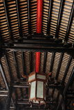The roof of ancestral hall Stock Photo