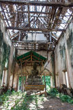 Roof Ancient abandoned temple in Thailand Royalty Free Stock Photography