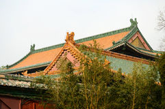 Roof of ancient Chinese palace Stock Photography