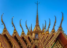 Roof Apex Style - Classical Thai Architecture ii Stock Photo