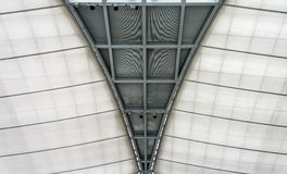 Roof architecture in hall Stock Photo
