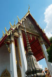 Roof Architecture, Wat Pho, Thailand Travel Stock Images