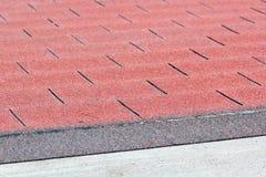 Roof asphalt shingles Royalty Free Stock Image