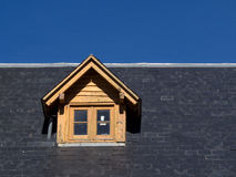 Roof with attic Stock Photos