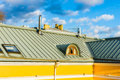 Roof and attic window Stock Photography