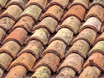 Roof background in Italy Stock Images