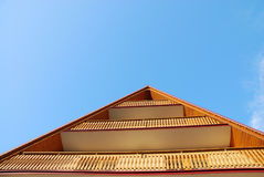 Roof and balcony Royalty Free Stock Photography