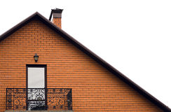 Roof and balcony Royalty Free Stock Image