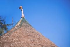 Roof Of Bamboo Hut Royalty Free Stock Image