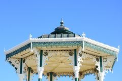 Roof of Bandstand brighton UK Stock Images