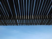 Roof batten under sky Stock Photos