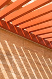 Roof Beam Pattern Stock Photos