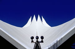 The roof of Berlin´s Tempodrom Stock Image