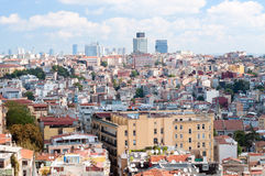 Istanbul roofs Royalty Free Stock Photo