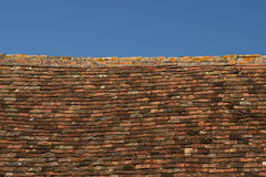 Roof and blue sky Royalty Free Stock Photos