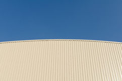 Roof and blue sky. Abstract background Royalty Free Stock Photography