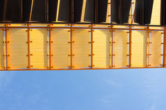 Roof with blue sky Stock Image