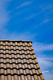 Roof with blue sky Stock Photo