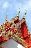 Roof of buddhist temple Stock Image
