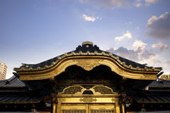 Roof of a Buddhist Temple Royalty Free Stock Photos
