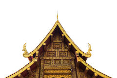 The roof of a Buddhist temple. Royalty Free Stock Photography